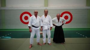 Sensei Antonio Barbas, Paulo Souza & Sensei Joaquim Caleiro