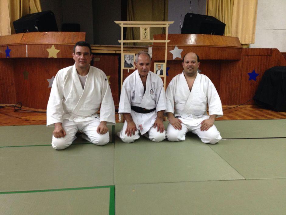 Treino com Sensei Joaquim Caleiro, Lisboa, Julho 2014